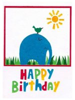 Eco-friendly and fair-trade childrens birthday cards