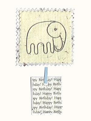 Eco-friendly fair-trade birthday cards