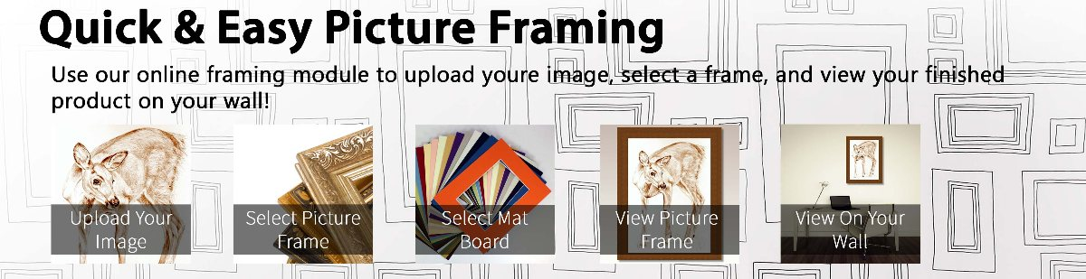 with our picture framing online shop you are able to find the perfect products for your needs without the need to travel store to store
